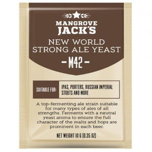 Mangrove Jacks Beer Yeast - New World Strong Ale M42