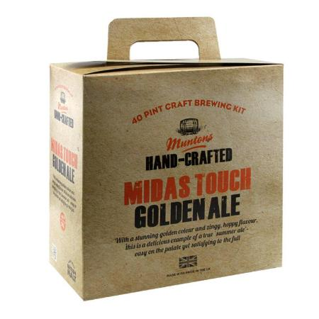 Muntons Hand Crafted Beer Kit - Midas Touch Golden Ale