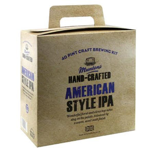 Muntons Hand Crafted Beer Kit - American Style IPA