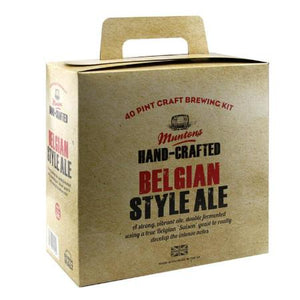 Muntons Hand Crafted Beer Kit - Belgium Style Ale