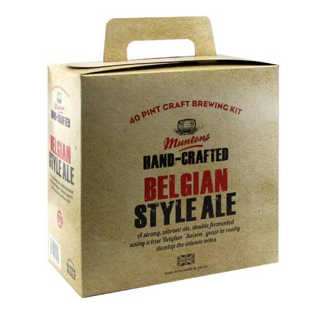 Muntons Hand Crafted Beer Kit - Belgian Style Ale