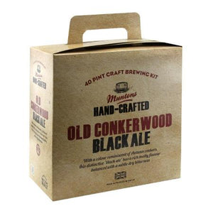 Muntons Hand Crafted Beer Kit - Old Conkerwood Black Ale