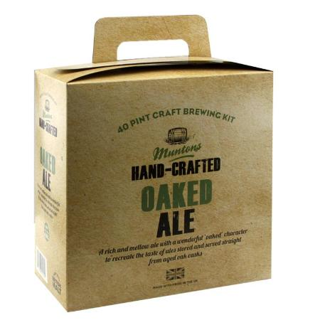 Muntons Hand Crafted Beer Kit - Oaked Ale