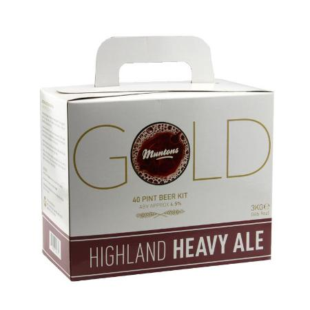 Muntons Gold  Beer Kit - Highland Heavy