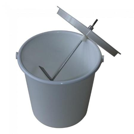 Pulp Master Bucket And Lid With Blade