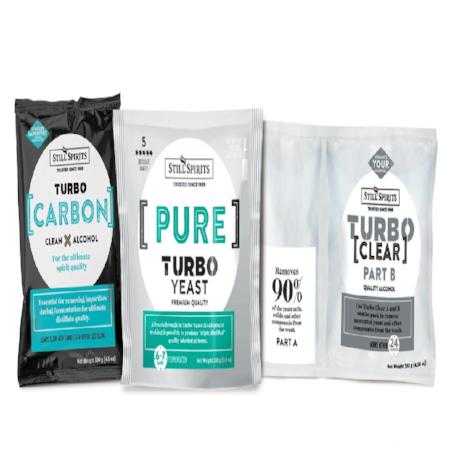 Still Spirits - Pure Turbo Yeast Kit (Includes Carbon And Finings)
