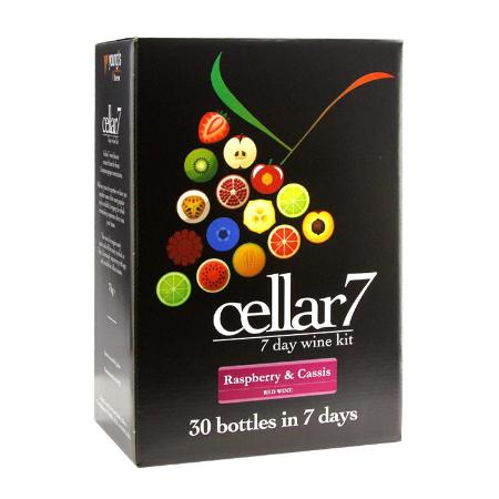 Cellar 7 Wine Kit - Raspberry & Cassis