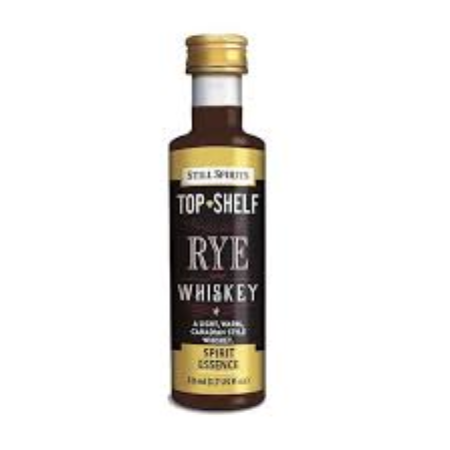 Top Shelf Spirit Essence - Rye Whiskey