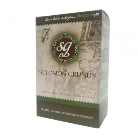 Solomon Grundy Country Wine Kit - Apricot