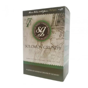 Solomon Grundy Country Wine Kit - Black Cherry