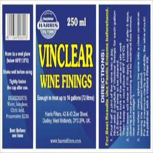 Harris - Vinclear 250ml