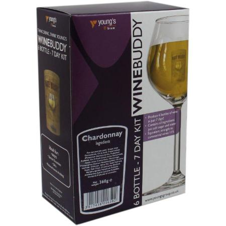 Winebuddy 30 bottle Wine Kit - Chardonnay
