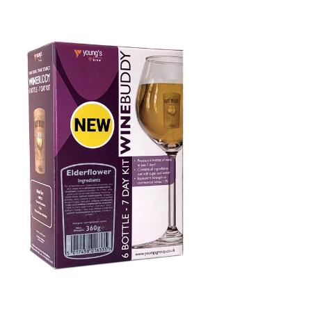 Winebuddy Country Wine Kit - Elderflower