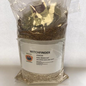 All Grain Mash Kit - Witchfinder - Porter abv 4.3%