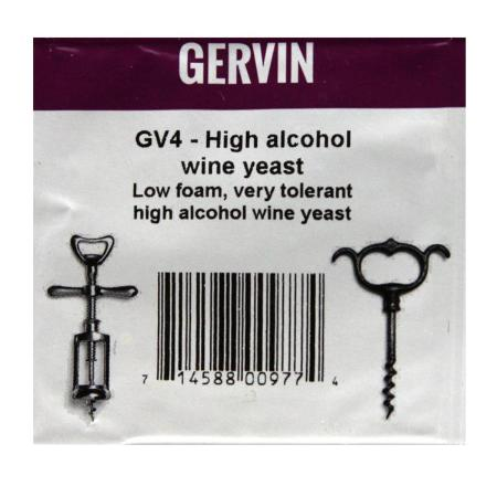 Gervin - GV4 High Alcohol Wine Yeast