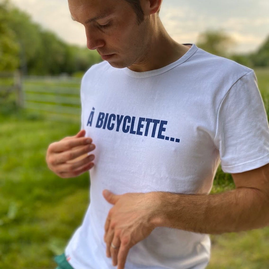 T-Shirt HOMME A BICYCLETTE... GASPARD