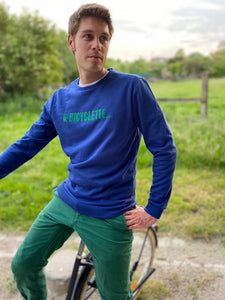 Sweat HOMME YVES A BICYCLETTE...