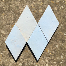 glazed terracotta diamond tiles - Handmade Tiles // Margate