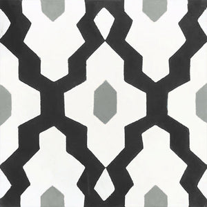 contemporary black / white / grey concrete tile - Handmade Tiles // Margate