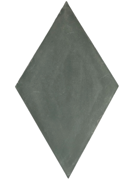 dark grey diamond concrete tile - Handmade Tiles // Margate