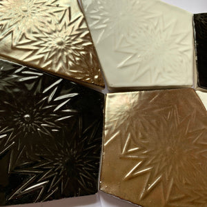 handmade metallic lustre glazed earthenware ceramic kite tile - Handmade Tiles // Margate