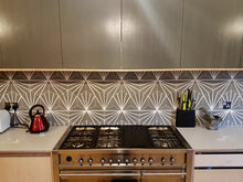 contemporary grey / white hexagonal concrete tile - Handmade Tiles // Margate