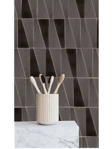 luxe high gloss glaze / natural finish quadrangle tile - Margate Tile Works
