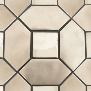 luxury geometric tiles handmade in solid bronze - SPACER for Margate Tile Makers - Handmade Tiles // Margate
