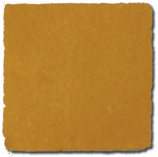 no.12 zesty yellow glazed terracotta tile - IN STOCK - Handmade Tiles // Margate