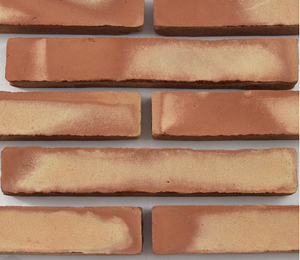natural terracotta elongated brick tile - IN STOCK - Handmade Tiles // Margate