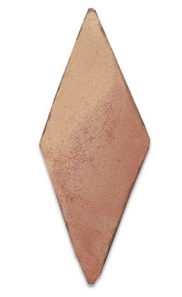 natural terracotta diamond tile - IN STOCK - Handmade Tiles // Margate