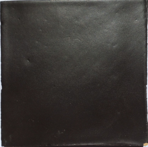 matte finish glazed black terracotta tile - Handmade Tiles // Margate