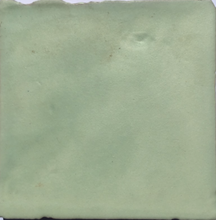 matte finish glazed hint of mint terracotta tile - Handmade Tiles // Margate