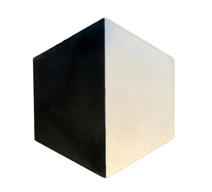 contemporary black / white hexagonal concrete tile - Handmade Tiles // Margate