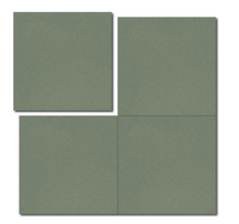 single colour dark green concrete tile