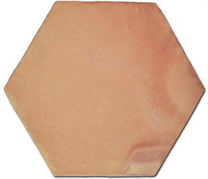 natural terracotta hexagonal tile - IN STOCK - Handmade Tiles // Margate
