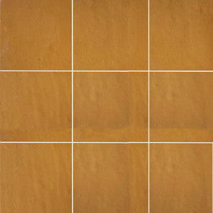 no.503 saffron glazed terracotta tile - IN STOCK