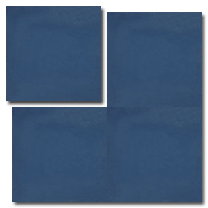 single colour dark blue concrete tile - Handmade Tiles // Margate