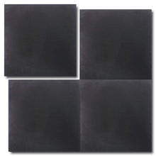 single colour black concrete tile - Handmade Tiles // Margate