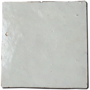 no.2 off white glazed terracotta tile - Handmade Tiles // Margate
