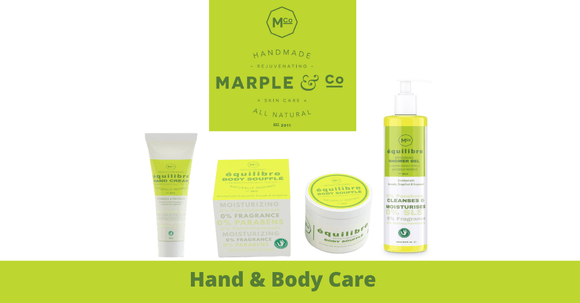 Body Care Collection for Sensitive Skin