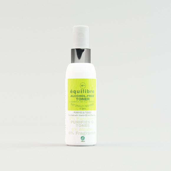 Natural Alcohol-Free Toner for Sensitive Skin - Dermatologically Tested - Marple & Co Store