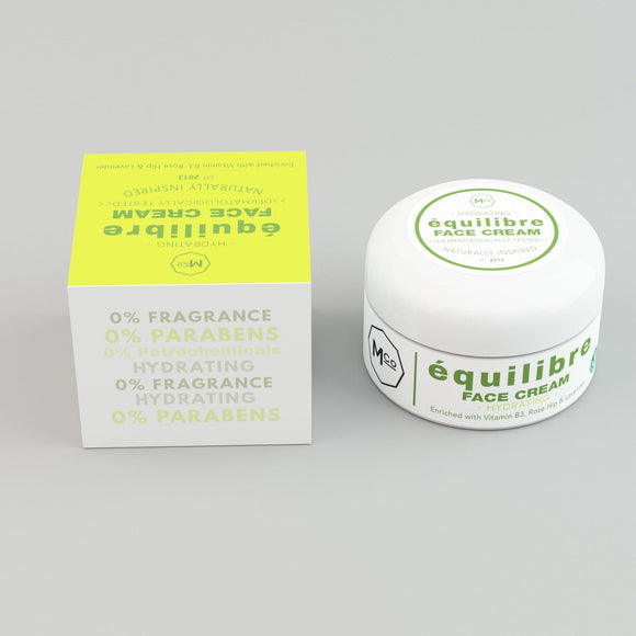 équilibré Natural Even Skin Tone Day Cream for Sensitive Skin - Dermatologically Tested - Marple & Co Store