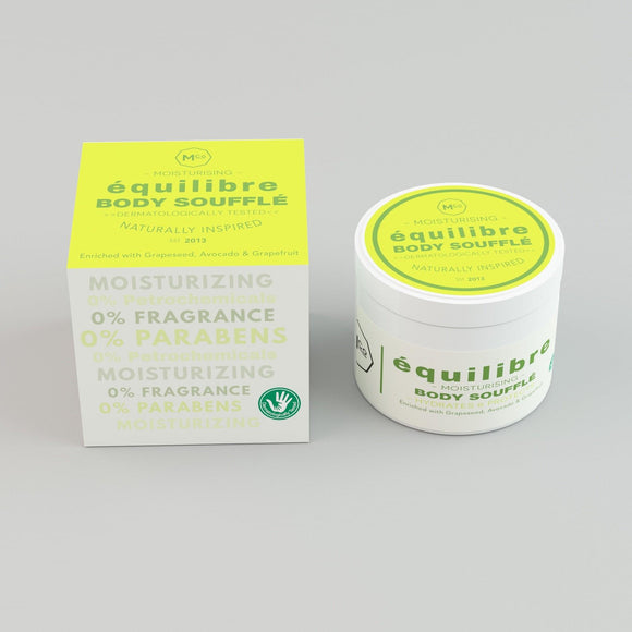 équilibré Natural Moisturizing Body Soufflé for Sensitive Skin - Dermatologically Tested - Marple & Co Store