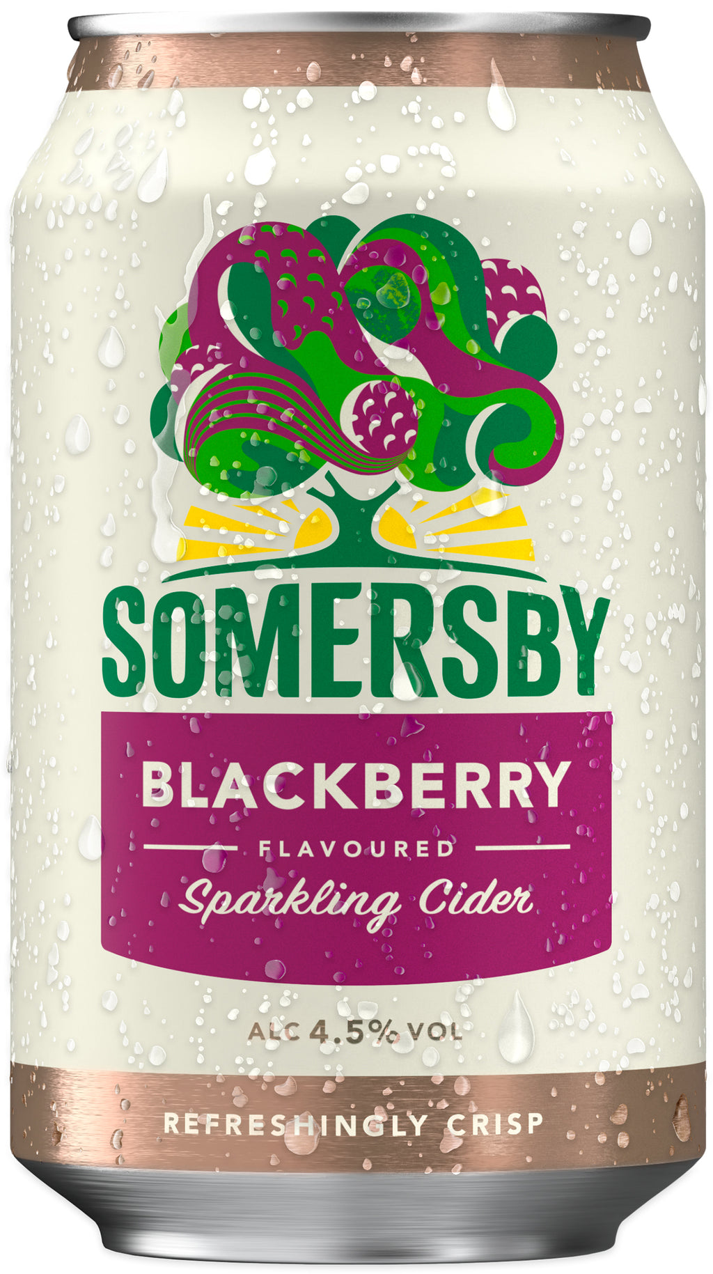 Somersby Blackberry 4,5%, 33cl
