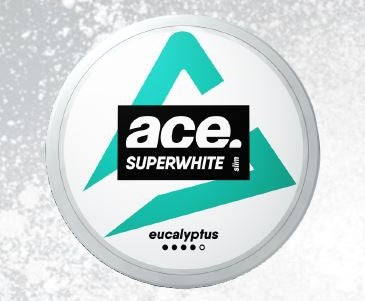 Ace Superwhite - Eucalyptus (Slim White Portion) - Styrke 4/5