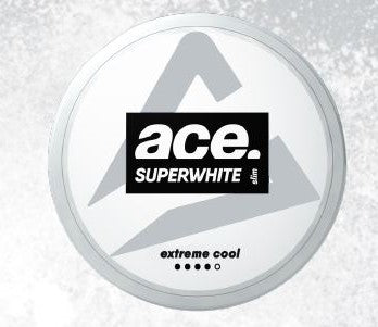 Ace Superwhite - Extreme Cool (Slim White Portion) - Styrke 4/5