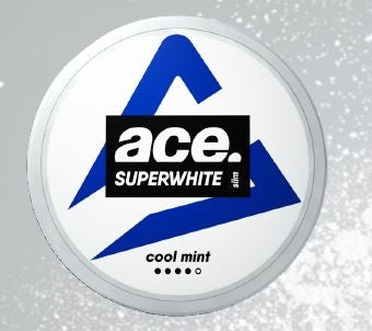Ace Superwhite - Cool Mint (Slim White Portion) - Styrke 4/5