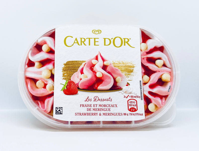 Carte D'or - Strawberry 900ml