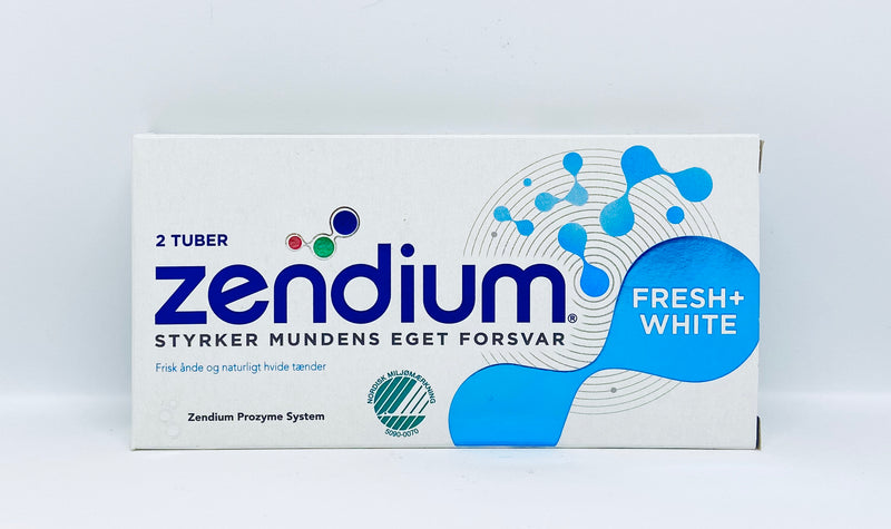 Zendium Fresh and White - 2 tuber á 50ml